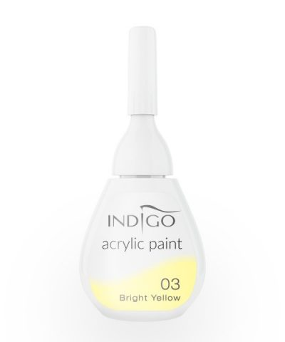 Acrylic paint 03 - Bright Yellow