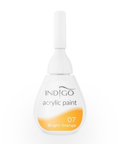 Acrylic paint 07 - Bright Orange