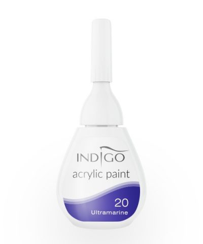 Acrylic paint 20 - Ultramarine