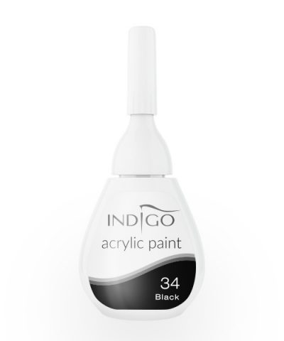 Acrylic paint 34 - Black