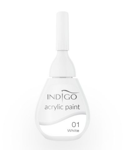 Acrylic paint 01 - White