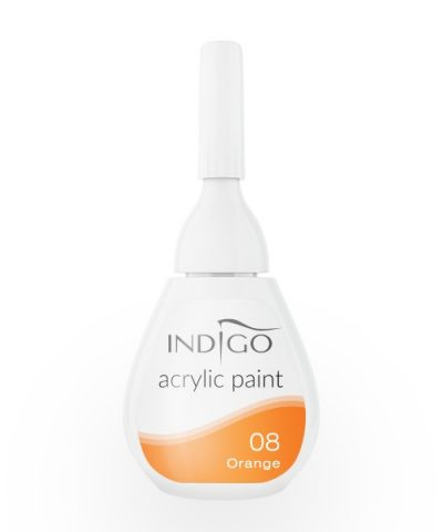 Acrylic paint 08 - Orange