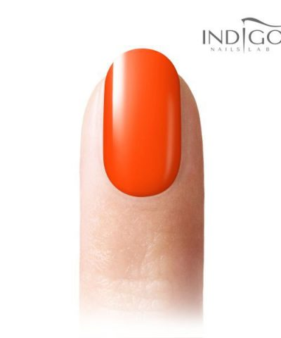 Neon Orange Gel Polish