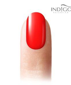 Neon Red Gel Polish