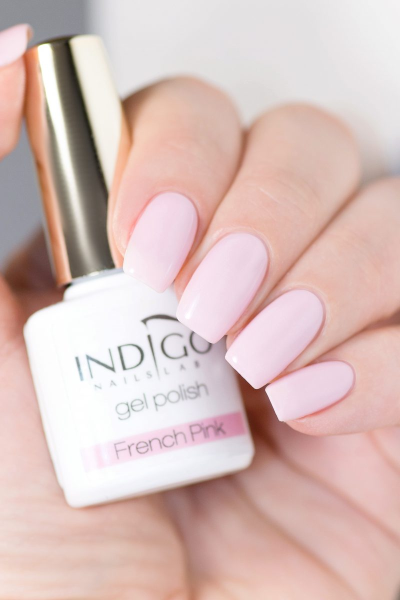 French Pink Gel Polish