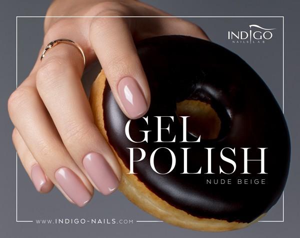 Nude Beige Gel Polish