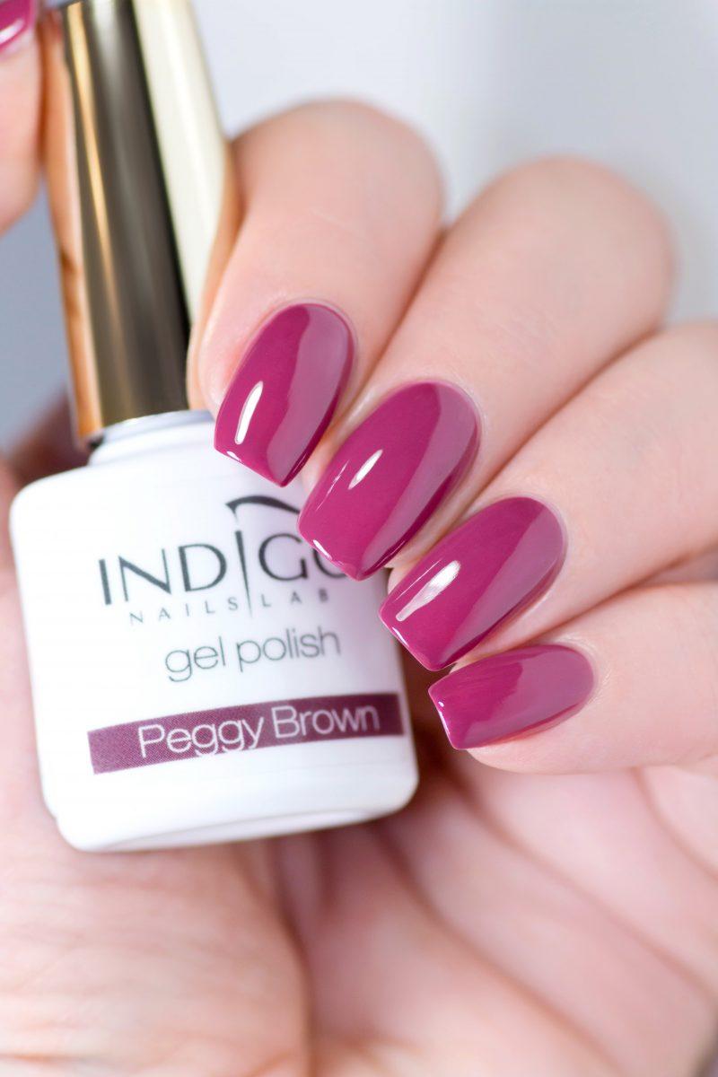 Peggy Brown Gel Polish