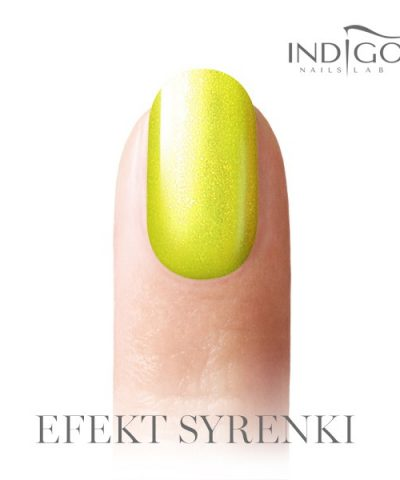 Mermaid Effect Neon Yellow