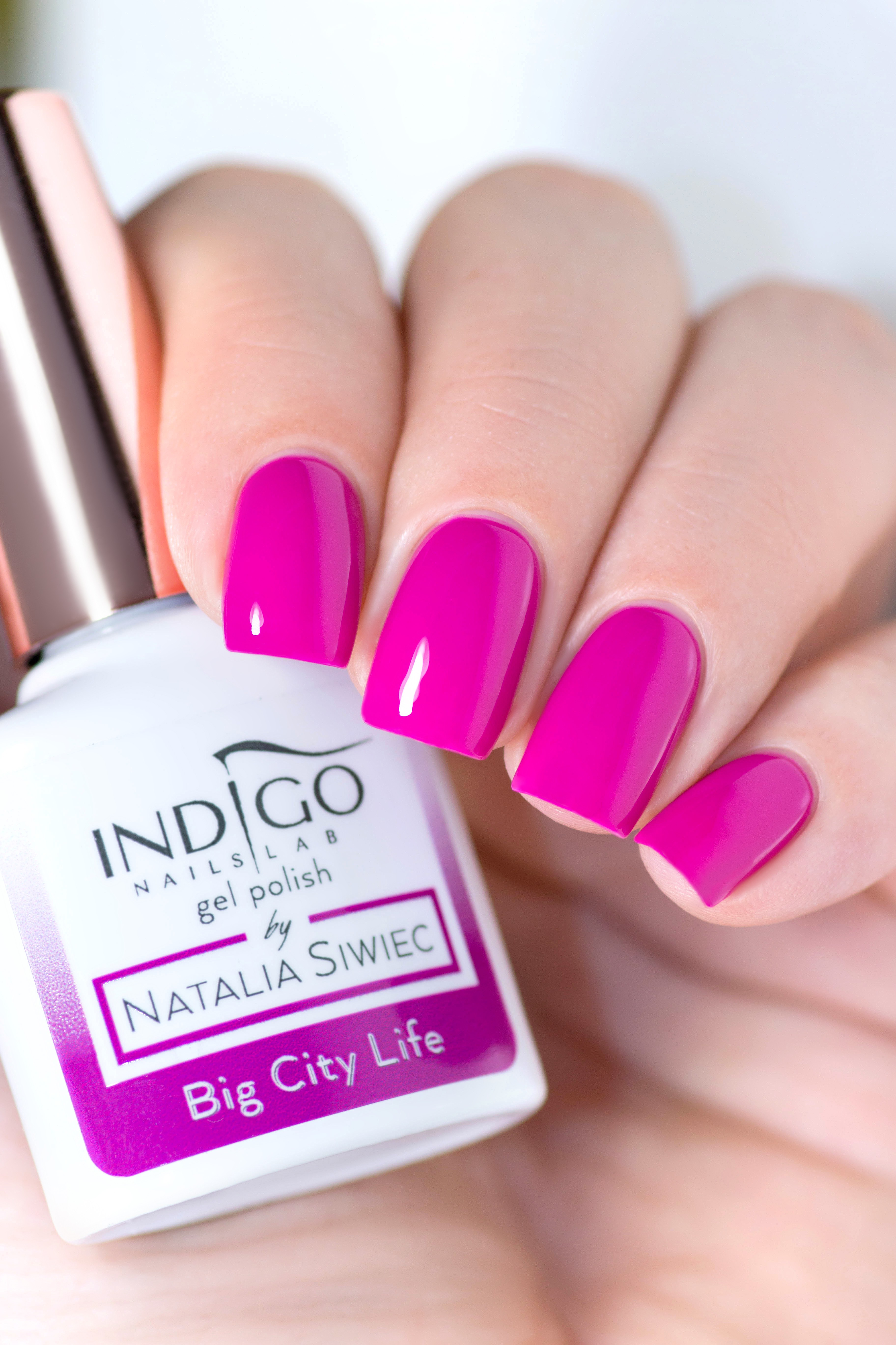 Big City Life Gel Polish By Natalia Siwiec Indigo